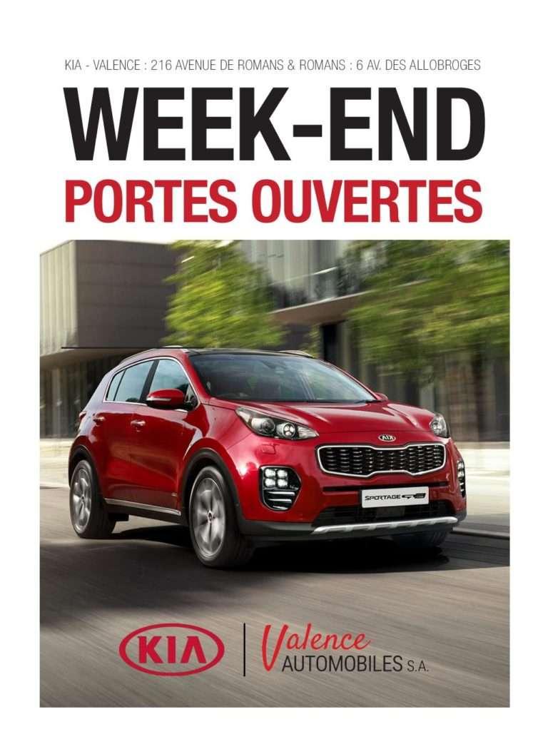 Flyers Portes ouvertes Valence Automobiles