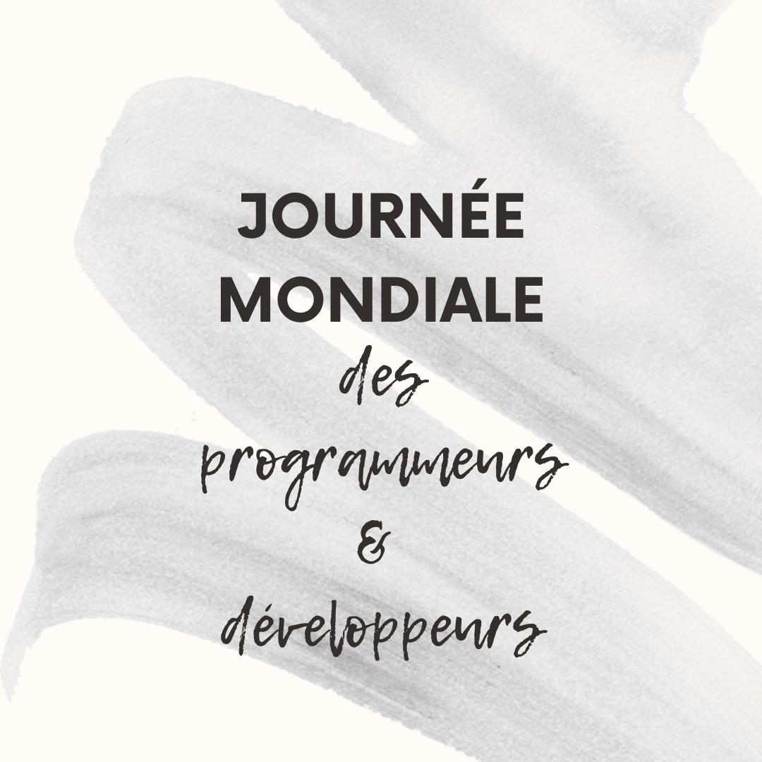 Journée mondiale des programmeurs et développeurs